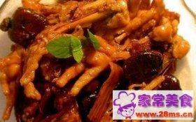 凤翅龙爪菜