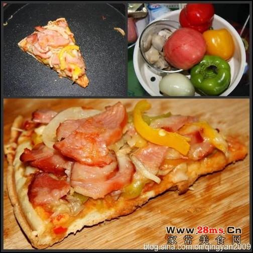 电饼铛做披萨的做法(早餐菜谱-电饼铛菜谱)