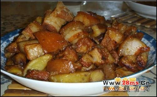 电饭锅红烧肉的做法_怎么做电饭锅红烧肉_如