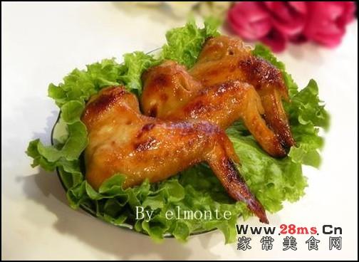 蒜香蜜汁烤鸡翅的做法(荤菜)