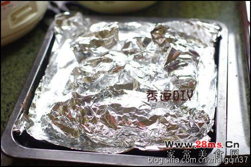 烤鲫鱼的做法(烤箱菜)
