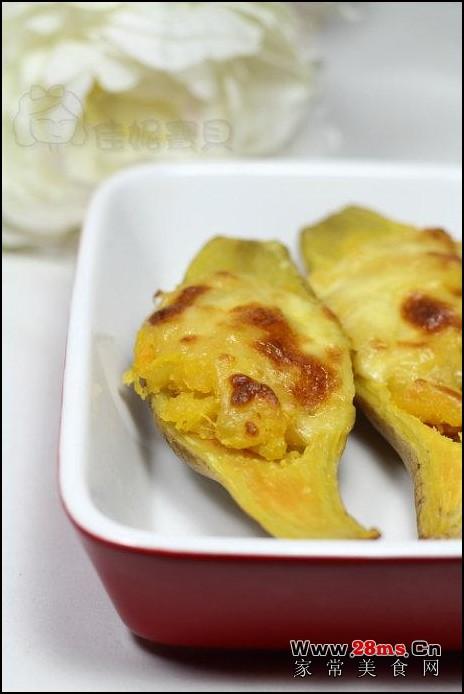 芝士焗薯茸的做法(西点)
