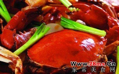 葱姜炒河蟹
