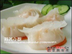 水晶虾饺图解