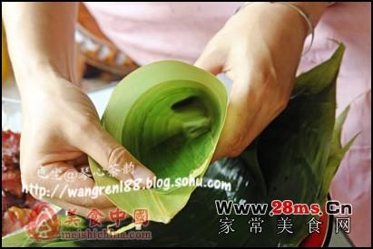 肉粽子家庭制作全程图解的做法