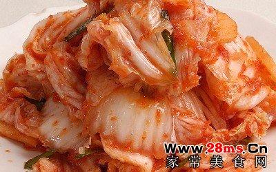 韩国不辣泡菜