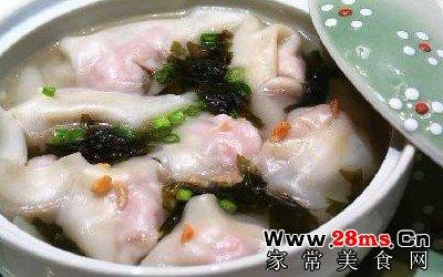 鲜肉虾仁馄饨