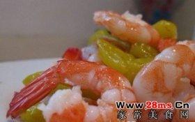 家常泡椒虾