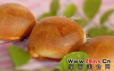 蜜豆墨西哥面包