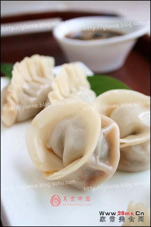 羊肉金针菇蒸饺图解的做法