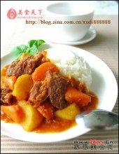 西红柿土豆炖牛肉图解