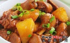 鸭腿焖土豆