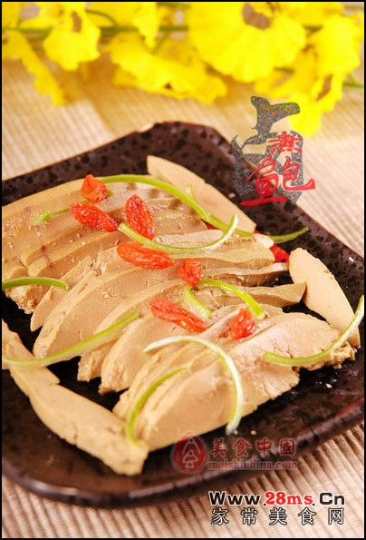 简单美味-盐水鸭肝