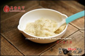 鸽子糙米粥辅食图解