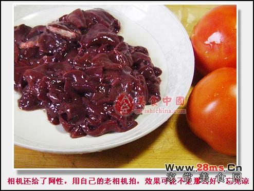 西红柿猪肝汤图解的做法