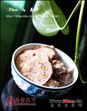 绿豆薏米莲藕猪骨汤图解