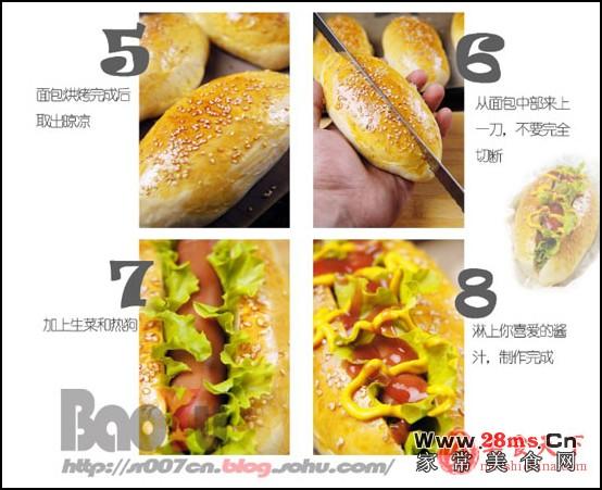 动物面包的做法带图解