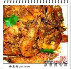 椒盐虾图解