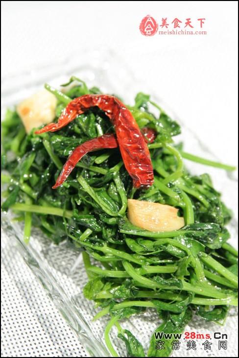 素炒豌豆苗