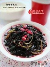 蒜炒紫苋菜图解