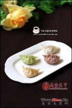 彩色饺子图解