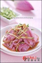 七夕紫苋菜汁凉皮图解