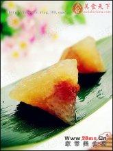 水晶蜜枣粽图解