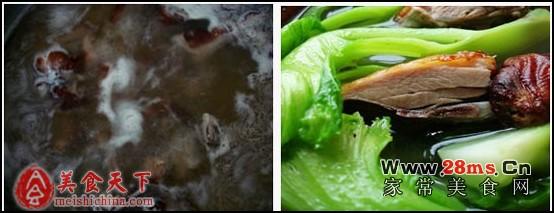 这个春天的解毒汤:水东芥菜煮烧鸭