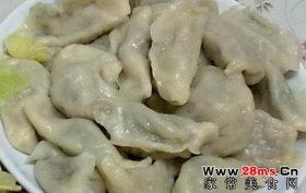 莲花白饺子