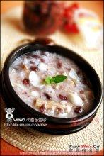 百合红豆排骨粥图解