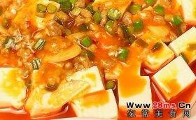 麻婆豆腐图解