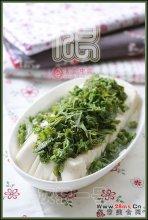 香椿豆腐图解