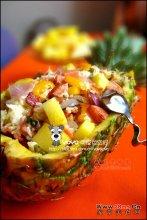 DIY菠萝咕噜饭图解