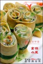 香椿素菜卷图解