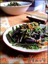 蒜蓉拌蕨菜图解