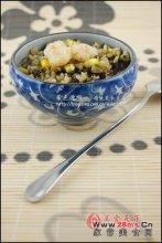 榄菜虾仁炒饭图解