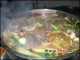 酸菜白肉火锅图解