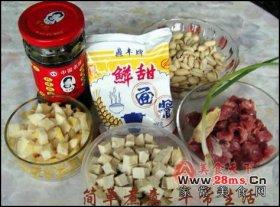 上海家常炒酱图解