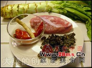 鱼香青笋肉片图解的做法