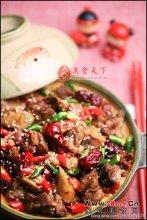 煨菜红枣煨羊肉图解