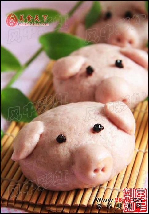 可爱小猪仔照片大鼻子