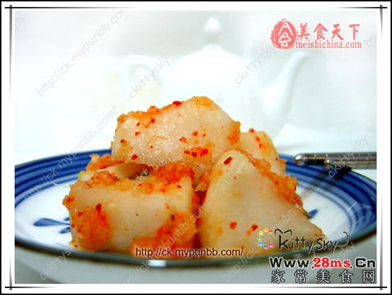 韩国泡菜萝卜