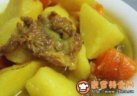 咖哩炖肉豆