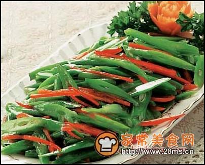 炒红椒扁豆