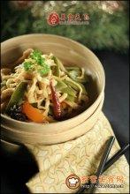中国扁豆蒸面图解