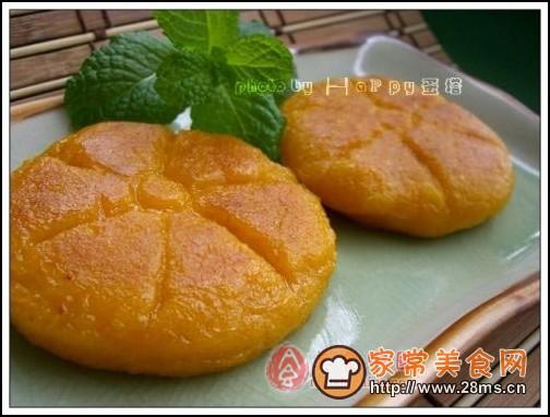 美味南瓜饼图解的做法