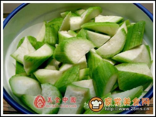 消夏的丝瓜泡菜图解的做法