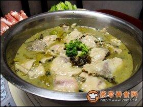 酸菜鱼火锅图解