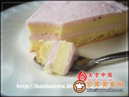 草莓冰淇淋蛋糕图解的做法