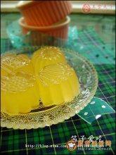 橙味果冻图解
